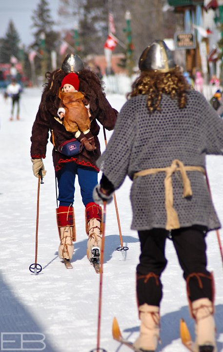 The Birkebeiner legend recounts two warriors rescuing Norway's infant prince -- who would go on to end the country's civil war in the 13th century -- by skiing him 55 kilometers to safety.